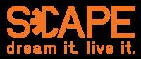 5. SCAPE_Logo w Tagline_RGB_Transparent